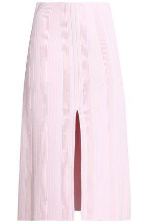 PROENZA SCHOULER Ribbed stretch-knit midi skirt