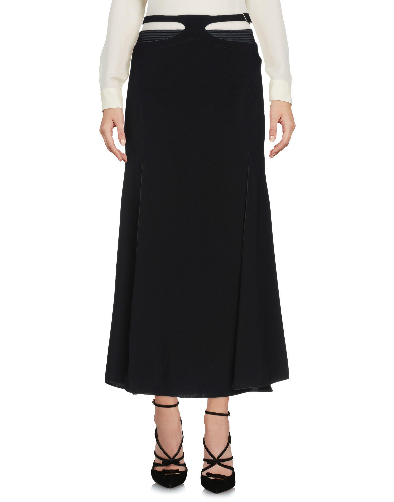VERSACE JEANS COUTURE Юбка длиной 3/4 moschino couture юбка длиной 3 4