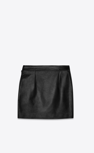 SAINT LAURENT Long Skirts Woman lambskin skirt b_V4