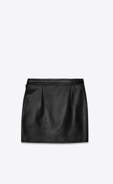 SAINT LAURENT ロングスカート レディース lambskin skirt b_V4