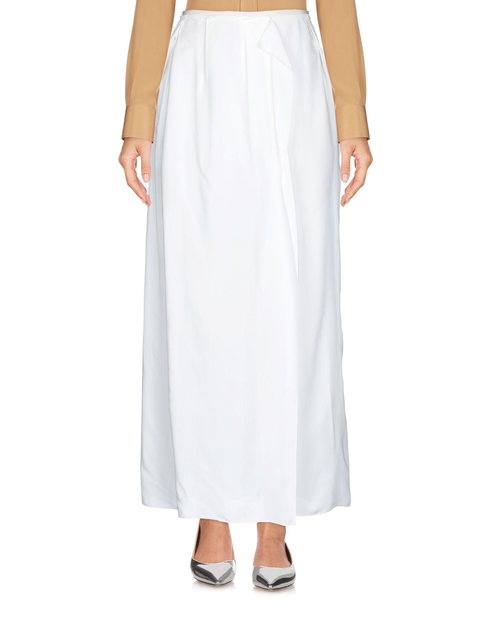 JIL SANDER NAVY Длинная юбка
