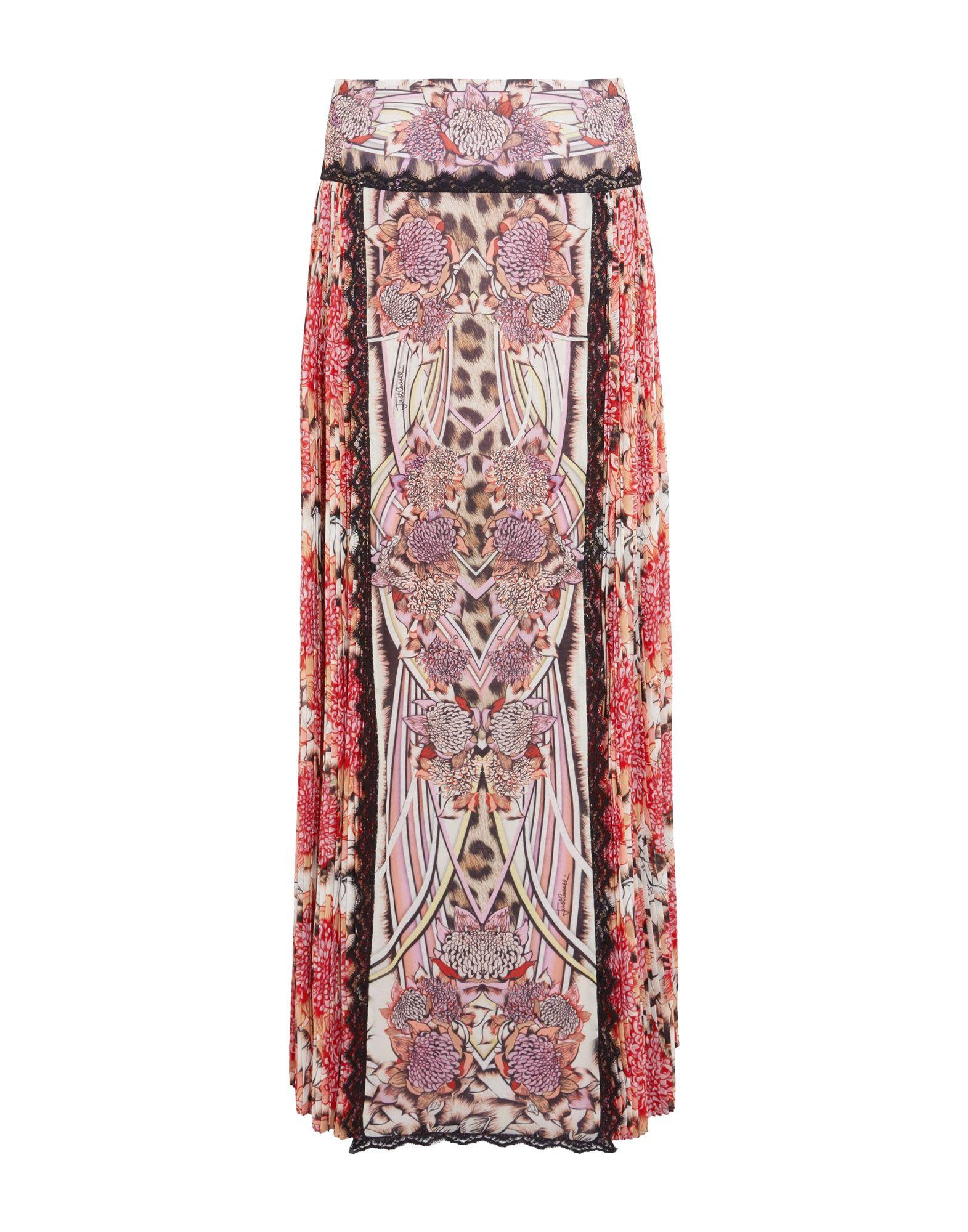 цена на JUST CAVALLI Длинная юбка