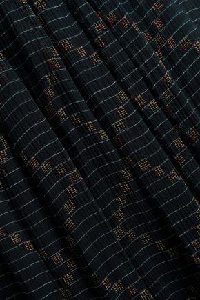 ISABEL MARANT ÉTOILE Printed silk-georgette maxi wrap skirt