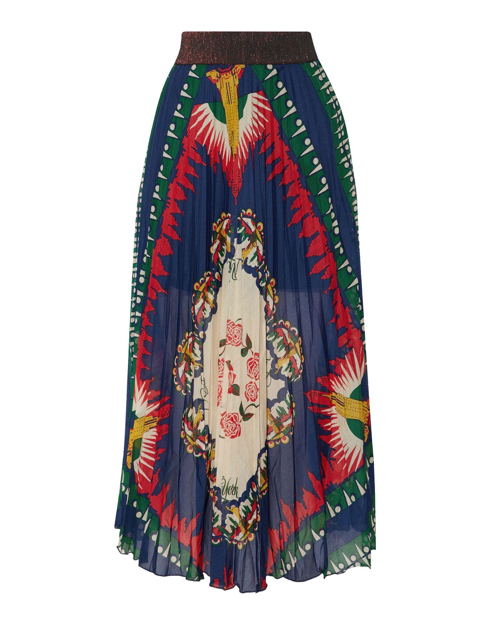 ANNA SUI Длинная юбка джордж локхард de sui