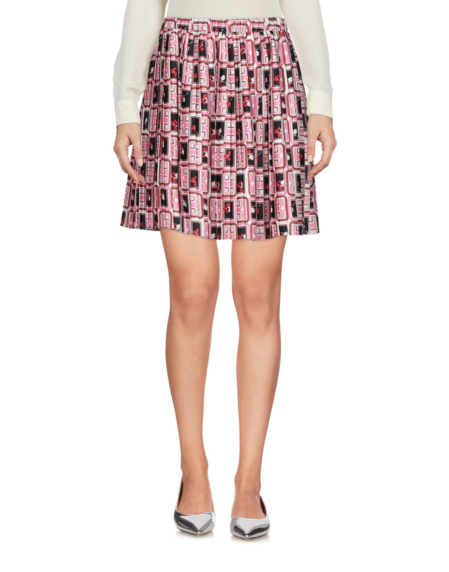《送料無料》VICOLO レディース ミニスカート ピンク one size 100% ポリエステル