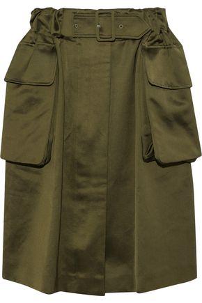 SIMONE ROCHA Gathered cotton-blend skirt