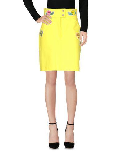 Купить Юбку до колена от OLYMPIA LE-TAN желтого цвета