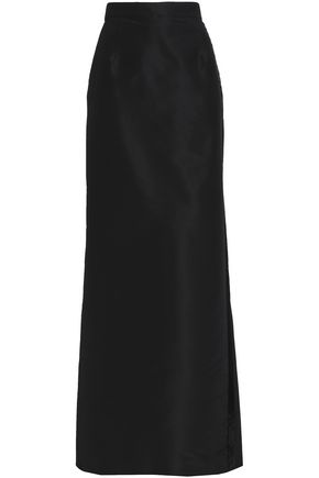 CAROLINA HERRERA Bead-embellished faille maxi skirt