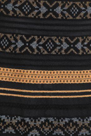 M MISSONI Jacquard-knit midi skirt