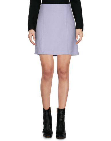 Купить Мини-юбка от BLUE LES COPAINS сиреневого цвета