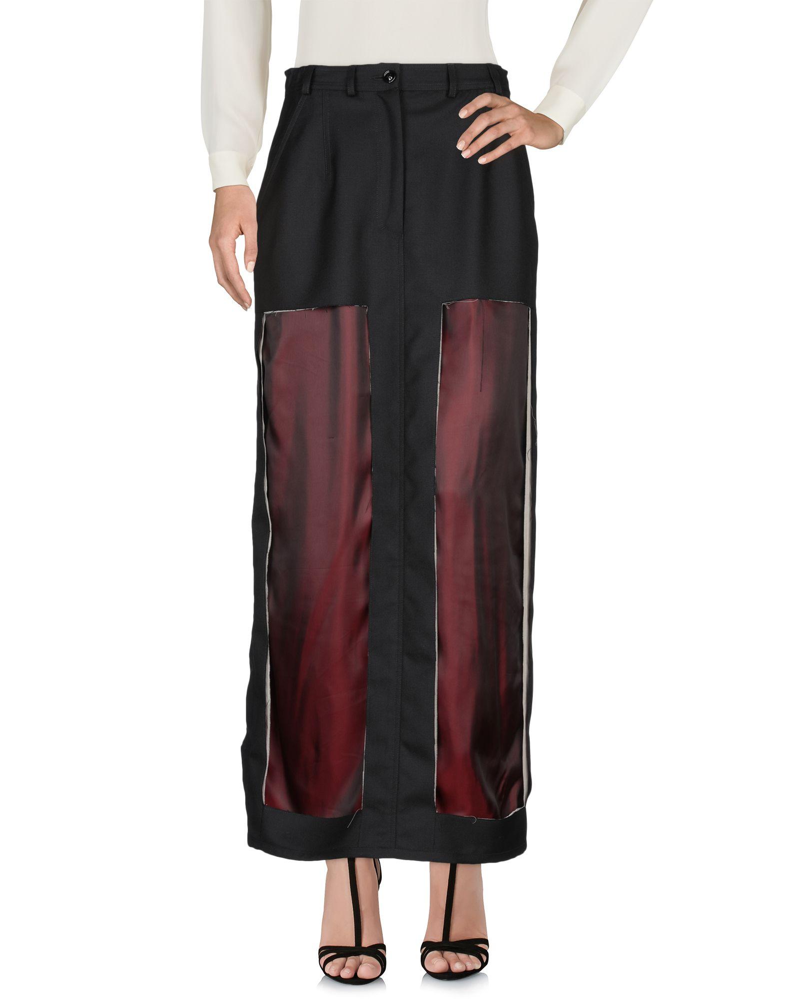 MAISON MARGIELA Длинная юбка maison olga длинная юбка