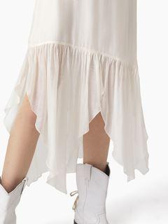 Biased skirt