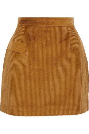 SANDRO Rayane cotton-blend chenille mini skirt