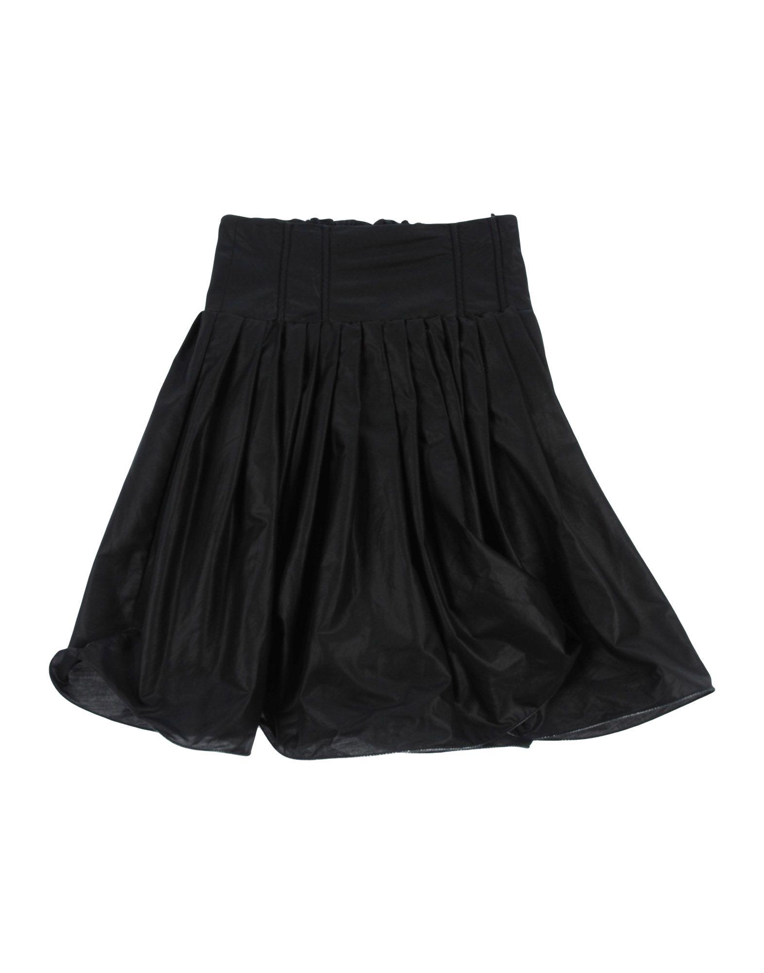《送料無料》NOLITA POCKET ガールズ 3-8 歳 スカート ブラック 4 コットン 100%