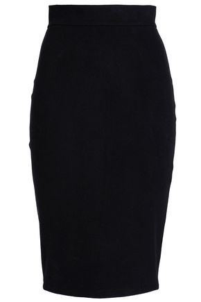 JAMES PERSE Brushed-felt skirt