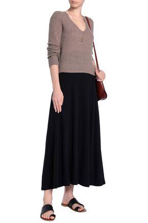 JAMES PERSE Cotton-blend jersey maxi skirt