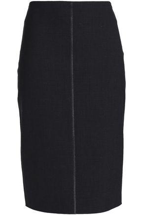 BRUNELLO CUCINELLI Stretch-wool skirt
