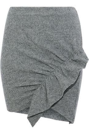 IRO Toman ruffled wool mini skirt