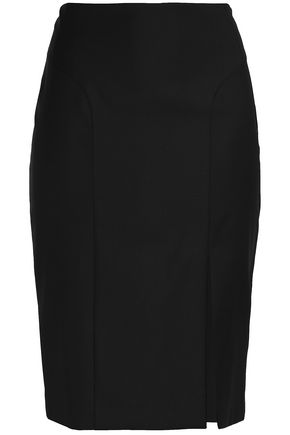 JOSEPH Wool-twill skirt