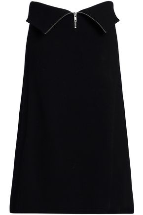 HOUSE OF DAGMAR Layered knitted skirt
