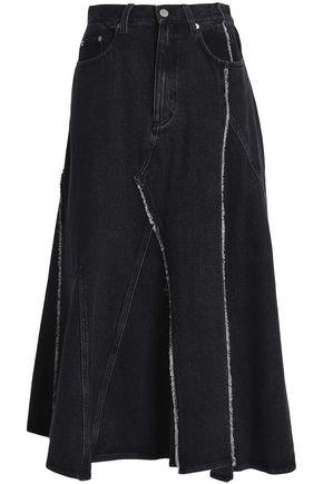 3.1 PHILLIP LIM Asymmetric denim midi skirt