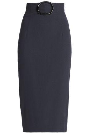 GOAT Embellished wool-crepe skirt