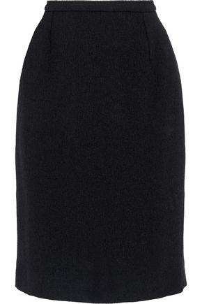 OSCAR DE LA RENTA Wool-crepe skirt