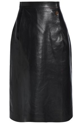 MAISON MARGIELA Leather skirt