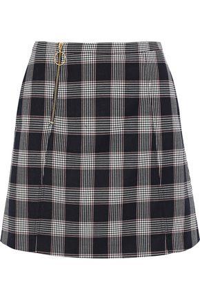 BAUM UND PFERDGARTEN Sayoko checked jacquard mini skirt