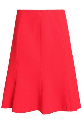 OSCAR DE LA RENTA Wool-blend skirt