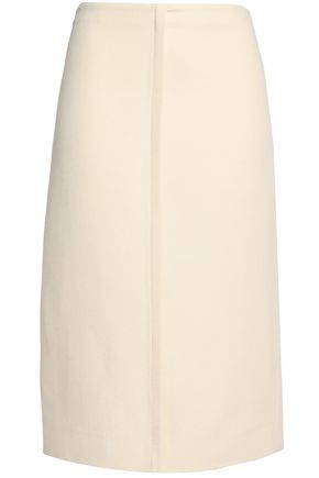 MARNI Wool-crepe skirt