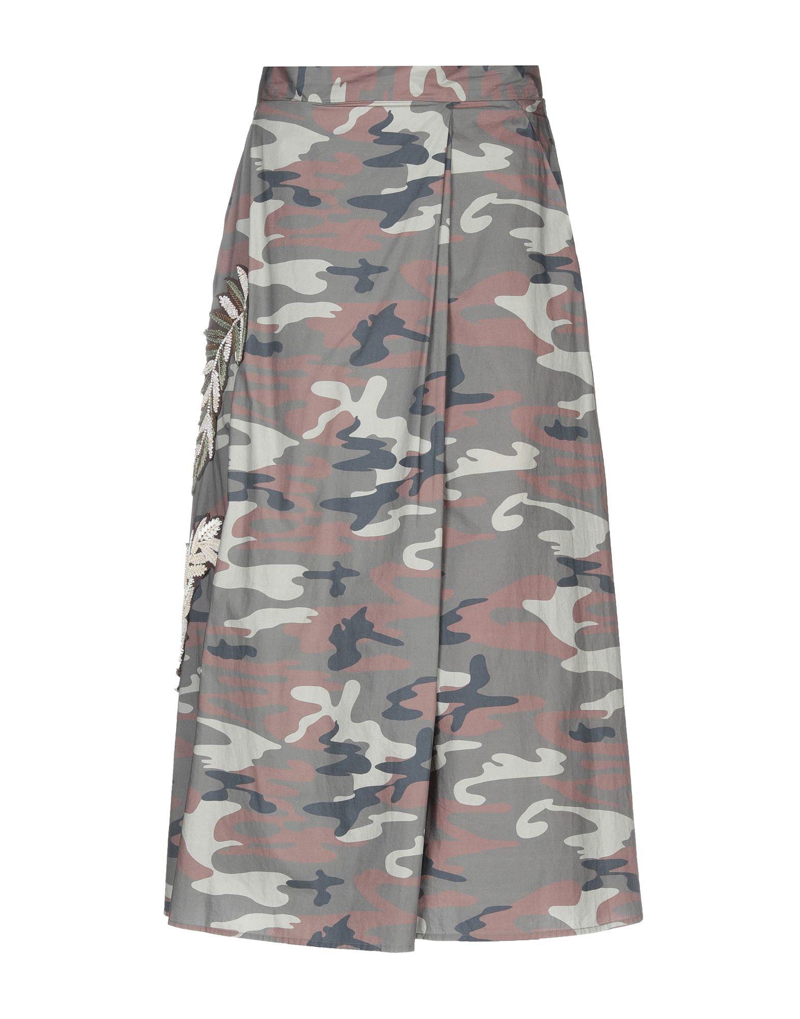 ALESSANDRA CHAMONIX Юбка длиной 3/4 alessandra rich юбка длиной 3 4