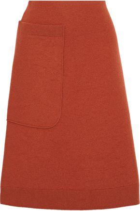 MAISON MARGIELA Brushed-wool skirt