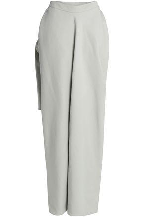 RICK OWENS Asymmetric layered woven skirt