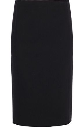 VINCE. Stretch-cady skirt