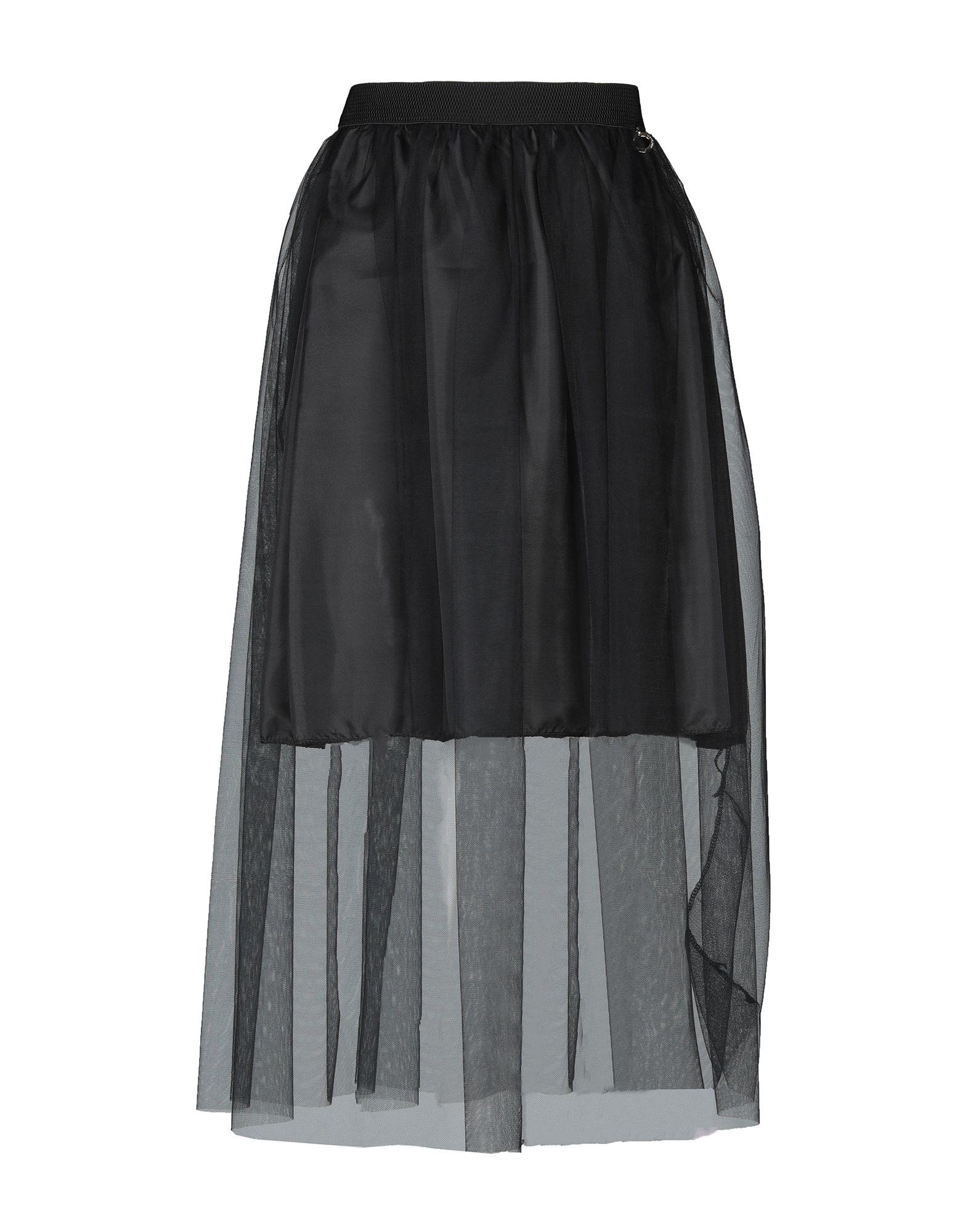 MANGANO Длинная юбка 1 one длинная юбка