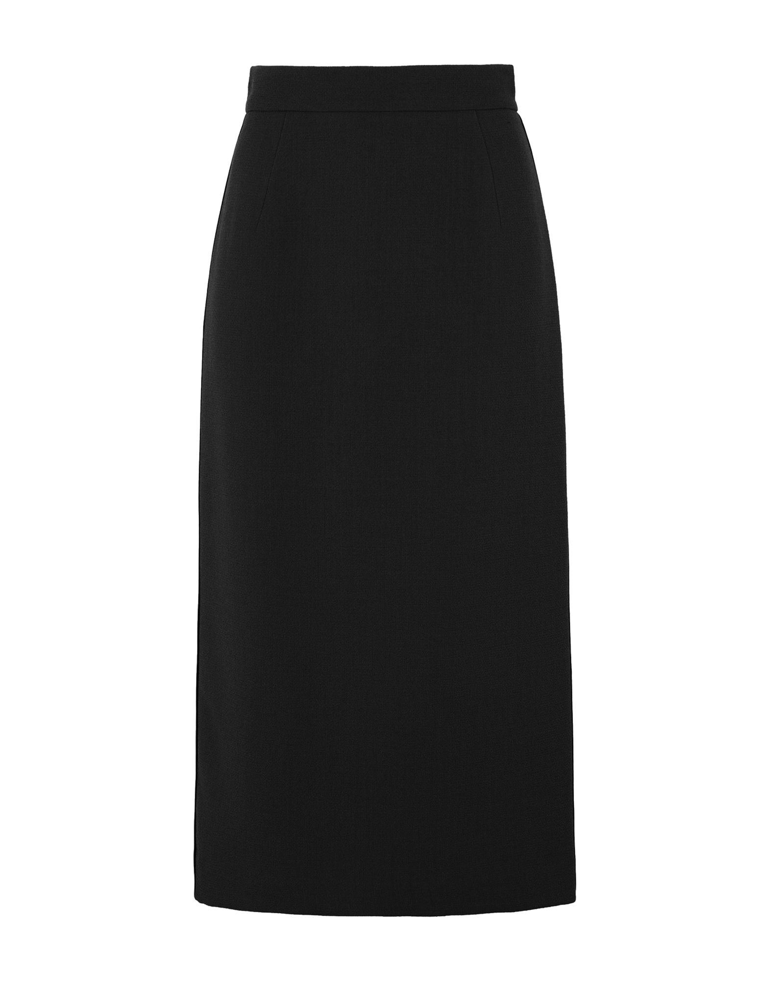 《期間限定セール開催中!》MARIANNA CIMINI レディース 7分丈スカート ブラック 38 ウール 100%