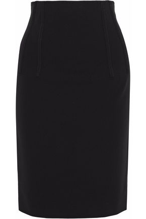 Crepe Pencil Skirt by Moschino