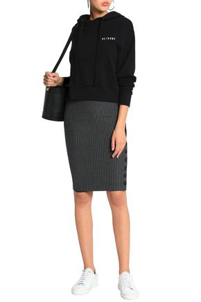BAILEY 44 Pinstriped stretch-jersey pencil skirt