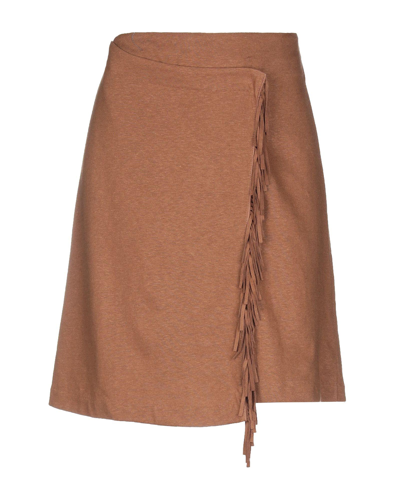 MAJESTIC FILATURES Юбка до колена majestic filatures платье до колена