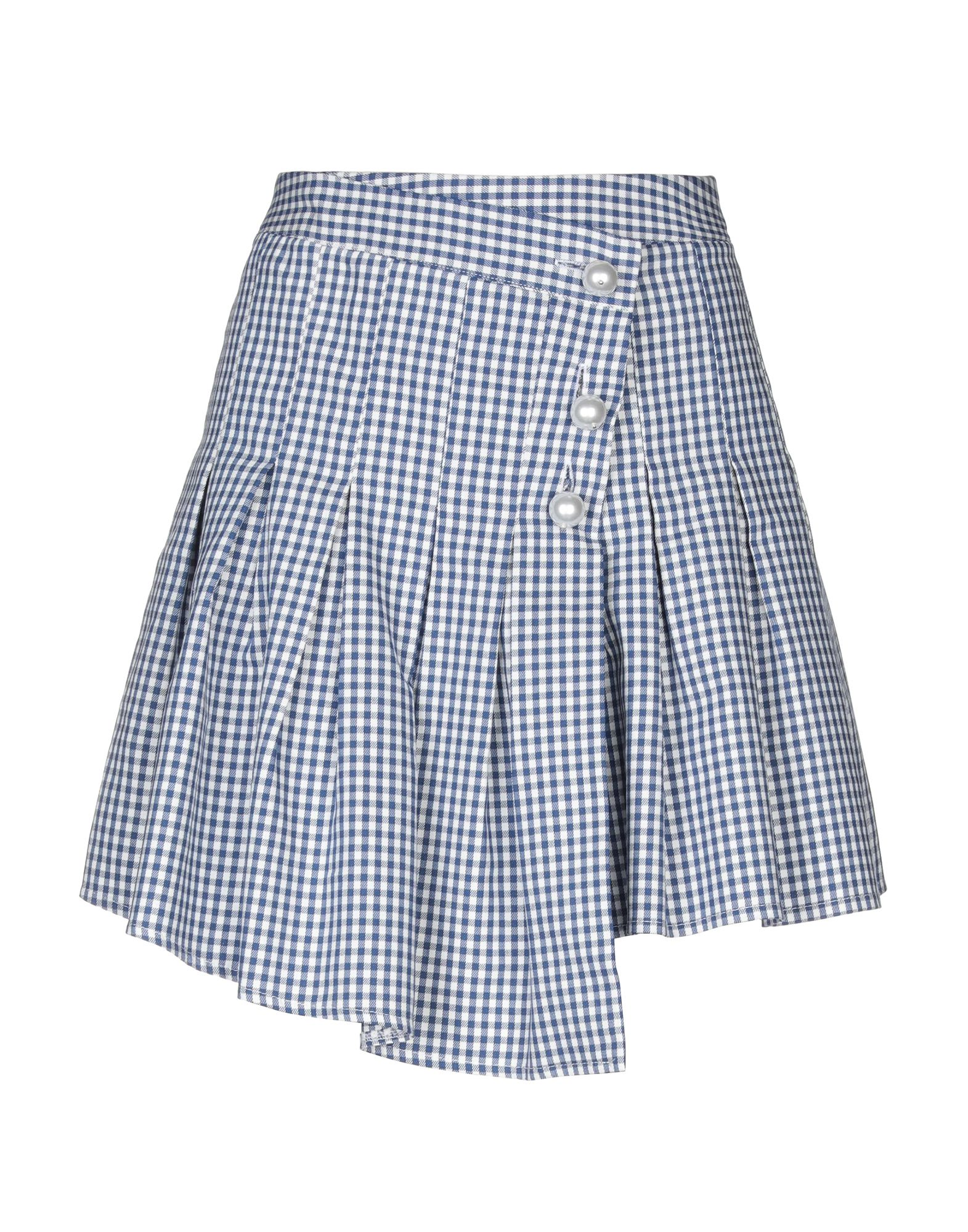MICHELA MII Мини-юбка michela mii юбка до колена