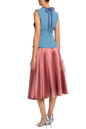 ROKSANDA Branca flared silk-satin skirt