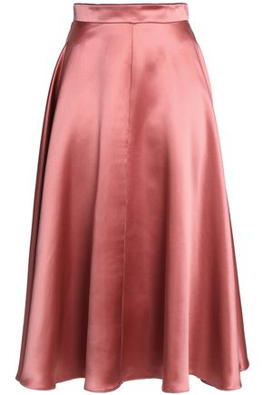 ROKSANDA Branca flared silk-satin skirt