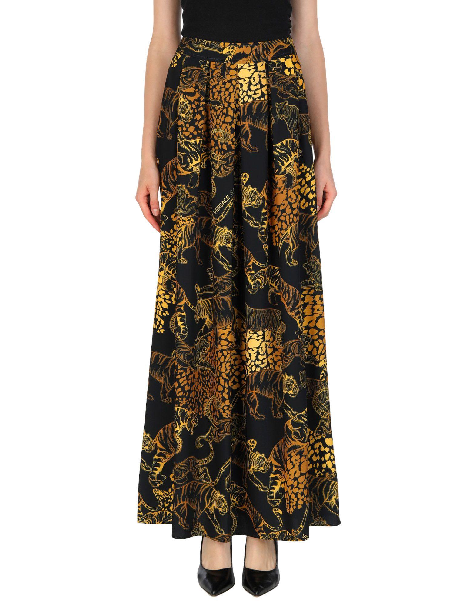 VERSACE JEANS Длинная юбка versace jeans couture длинная юбка
