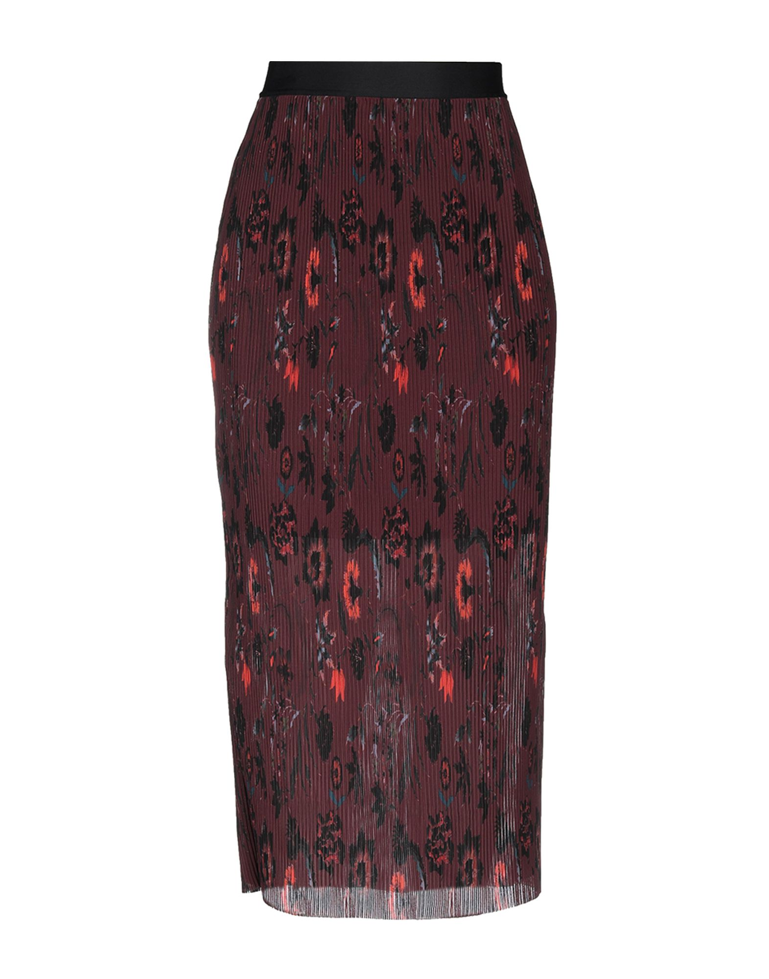SANDRO Длинная юбка sandro джинсовая юбка с декоративной шнуровкой page 3