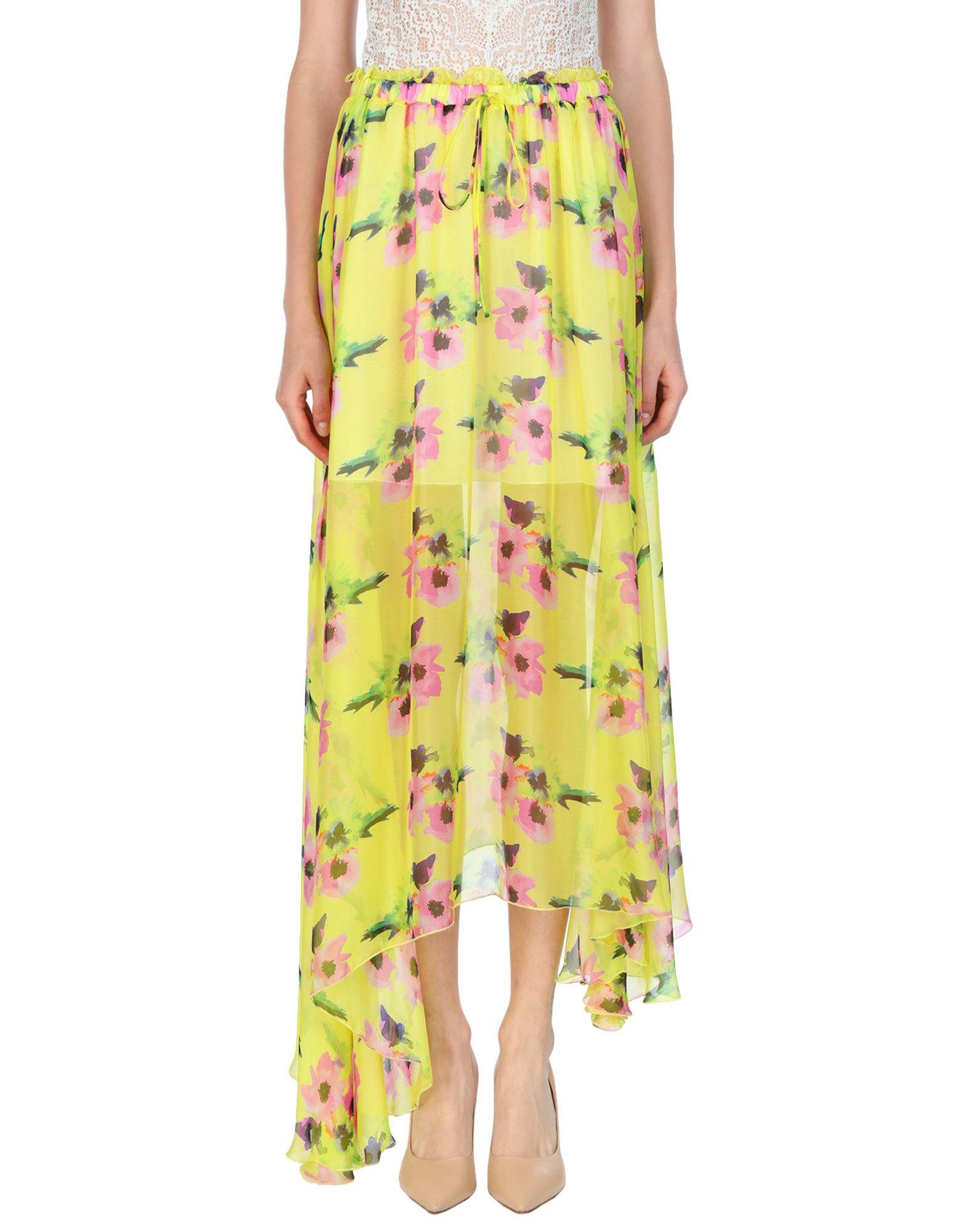 MSGM Длинная юбка юбка msgm юбка