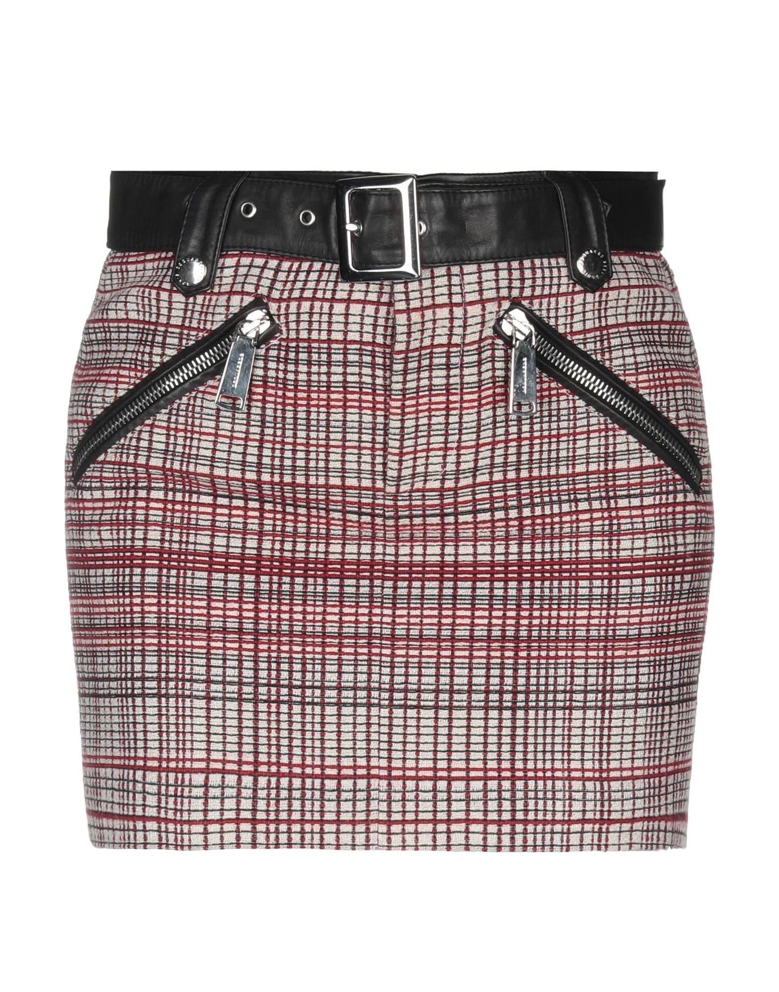 DSQUARED2 Мини-юбка agua мини юбка