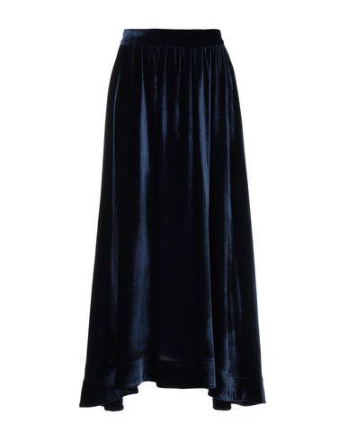Фото - Длинная юбка от RAQUEL DINIZ синего цвета
