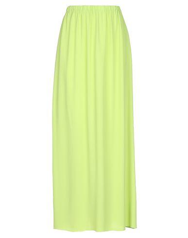 Купить Длинная юбка от BLUE LES COPAINS кислотно-зеленого цвета