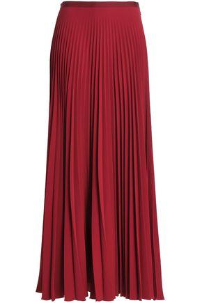 VANESSA BRUNO Pleated crepe maxi skirt